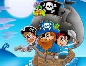 A kalózok kincse - interaktív gyermekműsor a Csiga Parkban
