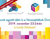 Társasjátékok Ünnepe és Társasjátékvásár 2019