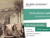 Dédszüleink napközije - Kávéháztörténet Saly Noémi előadása