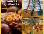 Őszi szüneti kézműves foglalkozás a Lipták Villában