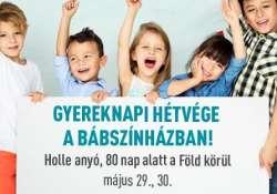 Gyereknapi hétvége a BudapestBábszínházban