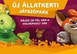 Új állatkerti játszópark - Megnyílt a Holnemvolt Vár