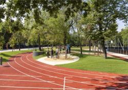 Új sportpálya nyílt a Városligetben
