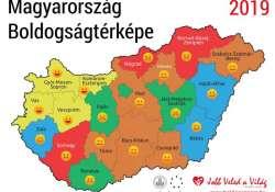 Idén vajon melyik Magyarország legboldogabb városa? Hajrá Budapest!