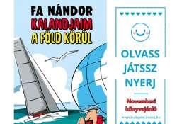 Novemberi könyvajánló és nyereményjáték a Budapestimamin