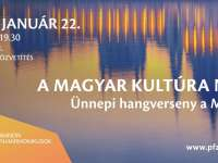 A magyar kultúra napja - Ünnepi hangverseny
