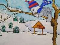 Ezütmancs és a madáretetőkalap - Mentasárkány rajzmesék 1. rész