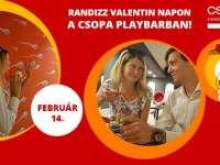 Izgalmas Valentin nap a Csodák Palotájában