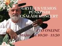 Gryllus Vilmos Pünkösdi Családi Koncert