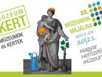Múzeumok Majálisa a Múzeumkertben