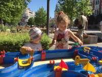 Ingyenes óriáshomokozó és közösségi programok Újpesten