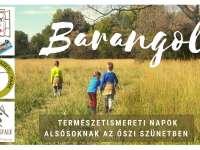 Barangoló - természetismereti napok alsósoknak az őszi szünetben