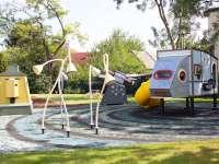 Űrbázis játszóteret adtak át a XV. kerületben
