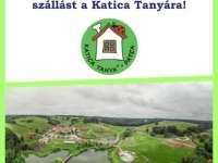 Nyerj 2 napra szóló családi belépőt és egy éjszaka szállást a Katica Tanya Élményközpontba