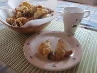 Mogyorókrémes croissant reggelire 15 perc alatt