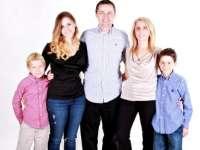 Háromgyermekes család