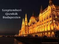 Budapesti éjszakák szeptemberben