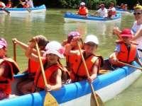 Indián-vízitúra sport és nyári élménytábor a Rómain