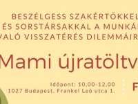 Mami újratöltve: Szabó-Máthé Hanga coach szakértőnk és Tűri Zita business coach programja