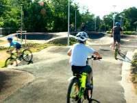 Megnyílt a biciklis pumpapálya Budafokon