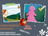 Tavaszi Meseépítő Bábfoglalkozás -  Játékos feladat gyerekeknek