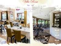 Villa Rosa - családias étterem és rendezvényhelyszín csodaszép környezetben
